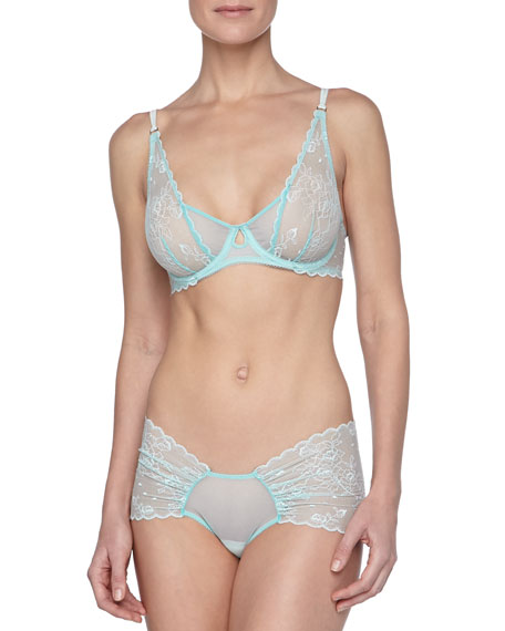 Diana Lace Short Briefs, Mint