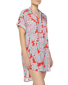 Josie Glamour Floral Sleep Shirt