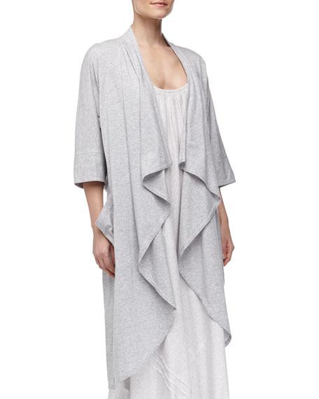 Pima Cotton Oversized Cozy, Gray