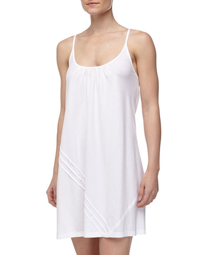Donna Karan Pima Cotton Chemise, White
