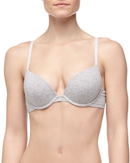 La Perla Clara Basic Cotton Push-Up Bra