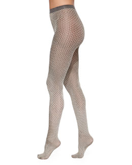 Brit Two-Tone Triangular Tights