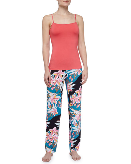 Ibisco Printed Pajama Pants