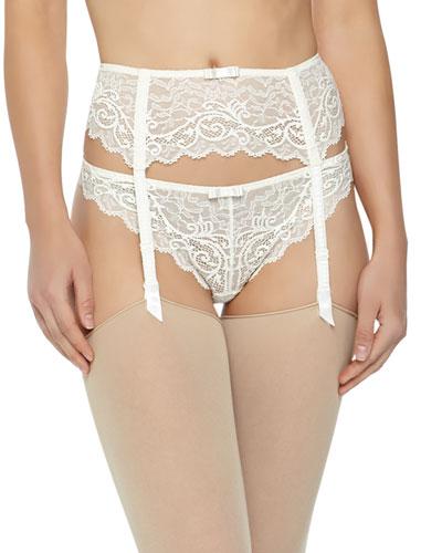 Celeste Lace Garter Belt