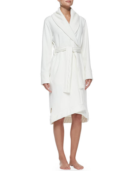 UGG Duffield Shawl Collar Robe, Cream