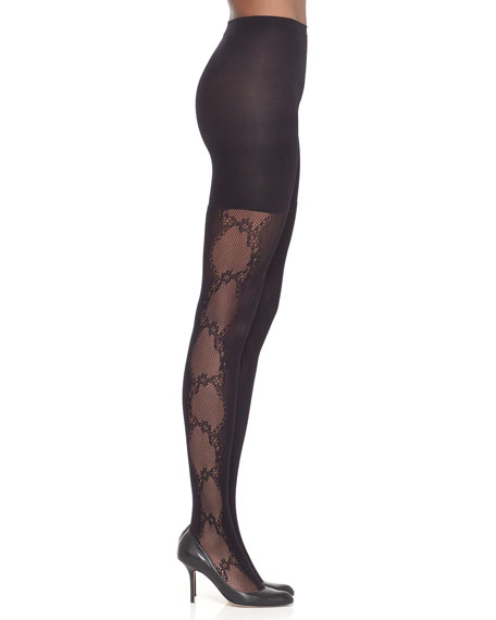 Uptown Tight End® Fishnet Flair Tights