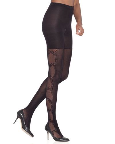 Spanx Uptown Tight End® Fishnet Flair Tights