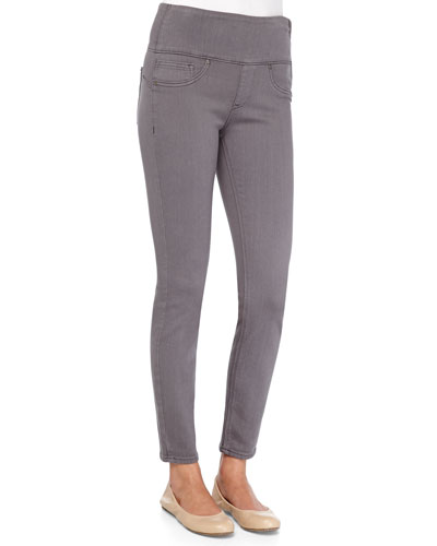 Spanx Firming Denim Leggings, Gunmetal