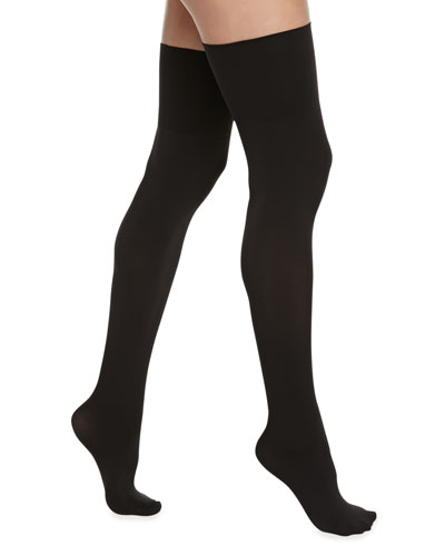 Ultimate Opaque Over-The-Knee Socks, Black