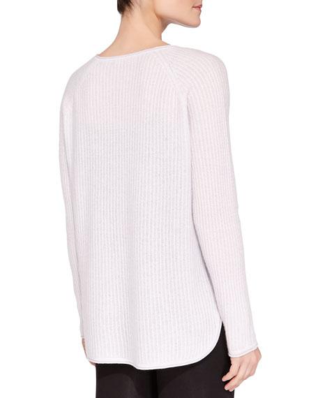 Cashmere Mini Cable-Knit Pullover