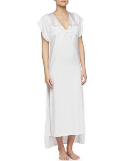 Serenade Lace-Trim Open Robe
