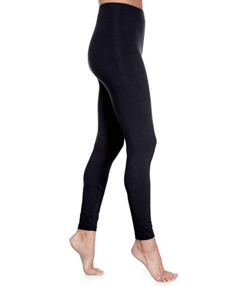 Layla Opaque Leggings, Black
