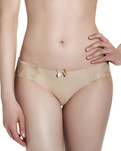 Andora Cotton-Blend Bikini Briefs