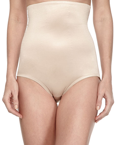TC Shapewear High-Waist Control Briefs, Nude
