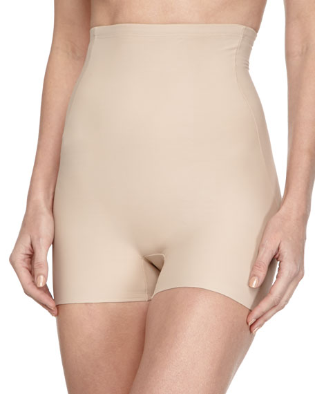 High-Rise Control Boyshorts, Nude