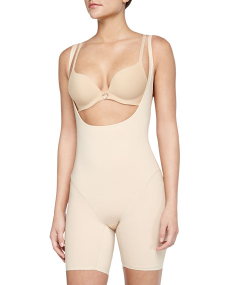 Wacoal Smooth Complexion Open-Bust Mid-Thigh Shaper