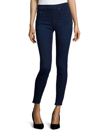 Ready-to-Wow Denim Leggings, Pacific Depth
