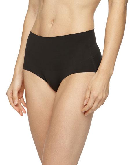 Spanx Undie-Tectable® High-Waist Bikini Briefs, Black