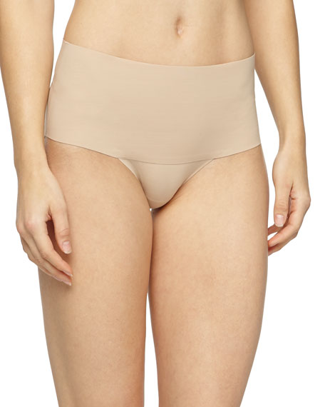 Spanx Undie-Tectable® High-Waist Boyshorts, Soft Nude