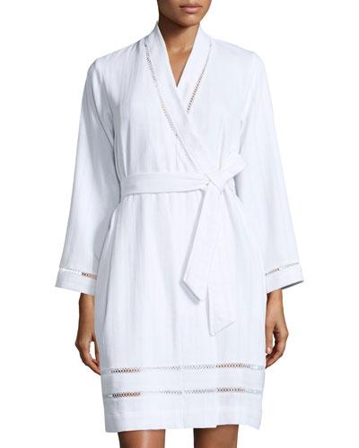Oscar de la Renta Luxe Spa Short Robe,
