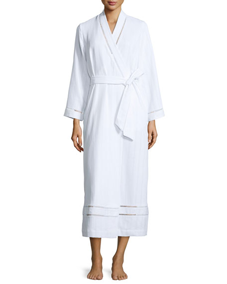 Oscar de la RentaLuxe Spa Long Robe, White