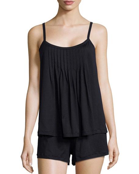 Hanro Juliet Short Pajama Set, Black