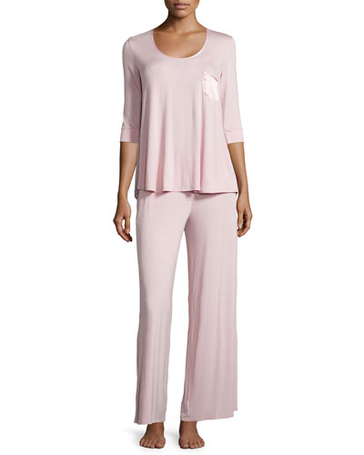My One and Only 3/4-Sleeve Pajama Set, Shell