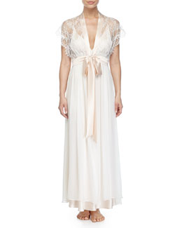 Ever After Long Robe, Blush