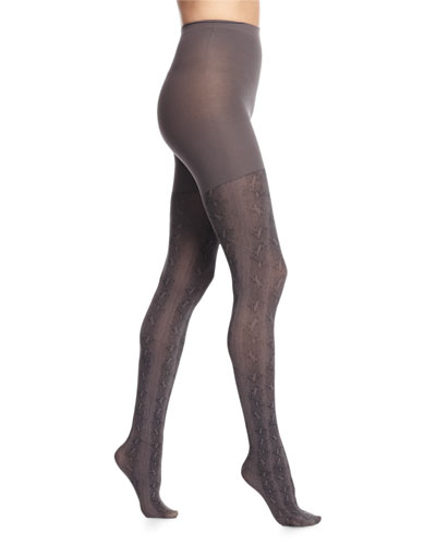 Easy As Python Printed Tights