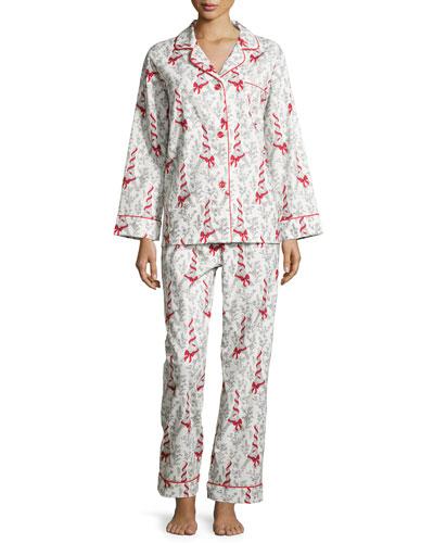 Eiffel Tower Printed Pajama Set
