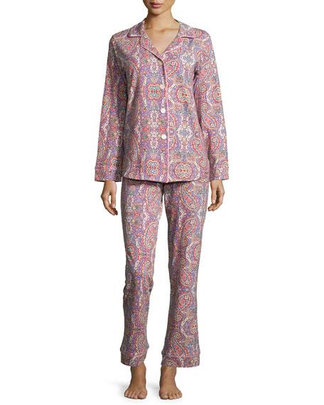 Bedhead Boho Paisley-Print Classic Pajama Set