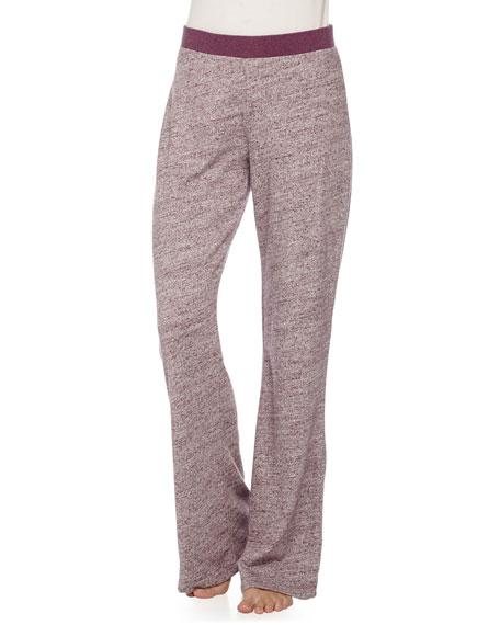 UGG Marled-Knit Wide-Leg Pants, Aster