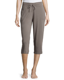 Easy Cropped Pants, Dusk