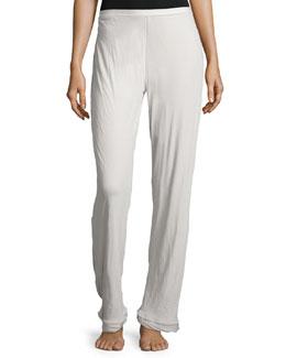 Organic Cotton Double-Layer Lounge Pants, Gray