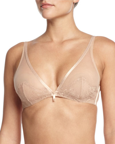Chantilly Lace Plunge Underwire Bra