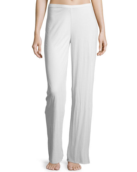 Skin Double-Layer Jersey Lounge Pants, Mist