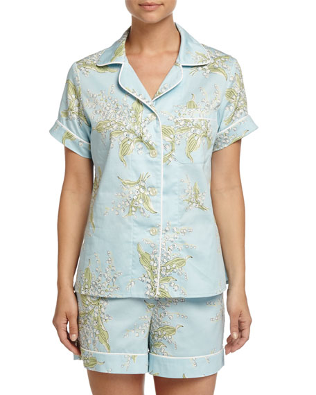 Bedhead Lily of the Valley Shorty Pajama Set,