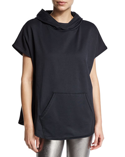 Pulse Short-Sleeve Pullover Sport Poncho
