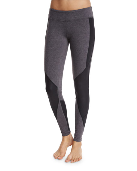 Alo Yoga Undertone Colorblock-Paneled Sport Leggings