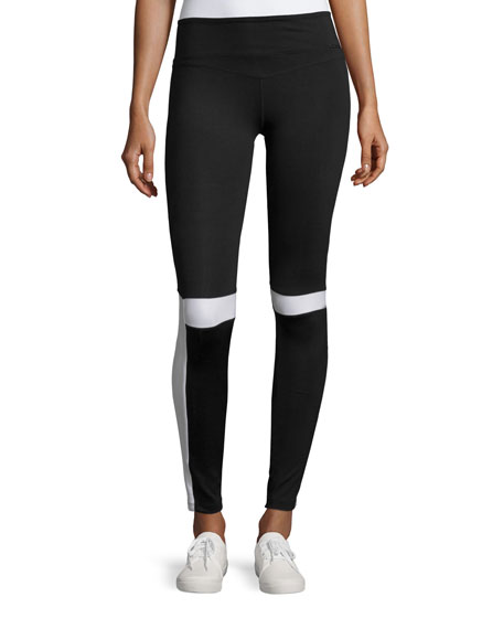 Impel Contrast-Panel Sport Leggings