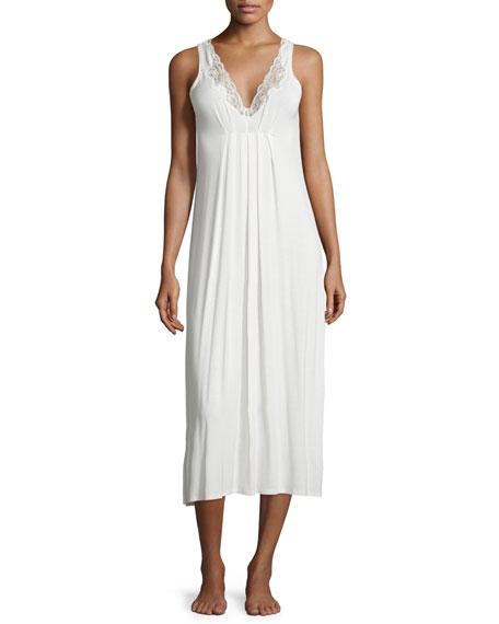 Oscar de la RentaLuxe Jersey Long Gown with