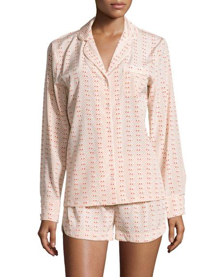 Stella McCartney Poppy Snoozing Long-Sleeve Pajama Set, Matches