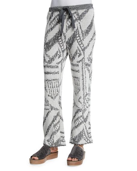 Skin Angelina Cotton-Blend Drawstring Pants