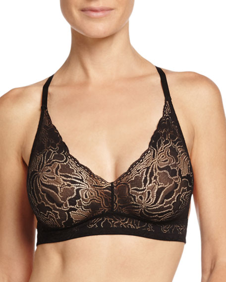 Hanro Lulu Soft Lace Racerback Bra & High-Cut