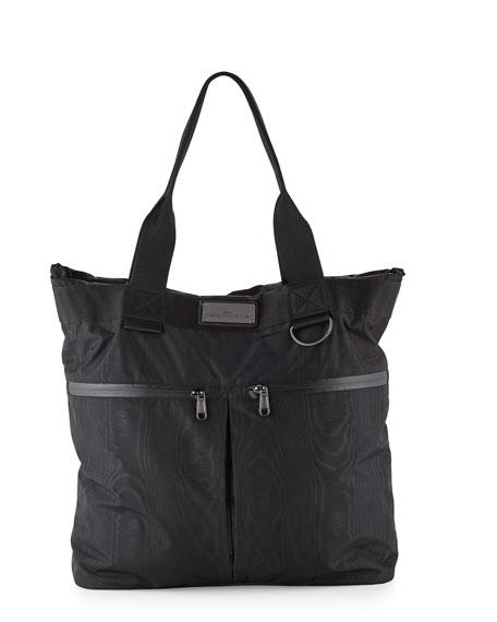 adidas by Stella McCartney Moire-Print Big Sports Bag,