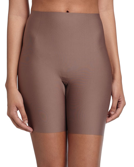 Spanx Thinstincts Targeted Short Shaper, Mineral Taupe