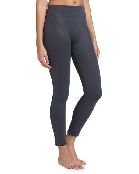 Spanx Essential Cropped Leggings, Steel