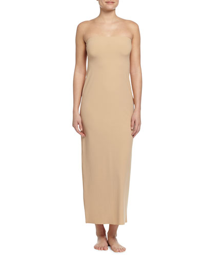 The Strapless Maxi Slip