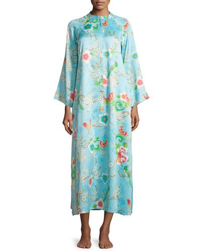 Magnolia Printed Zip Caftan, Women's