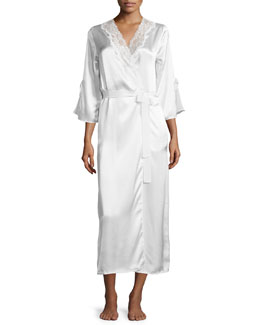 Always a Bride Robe, Pure White
